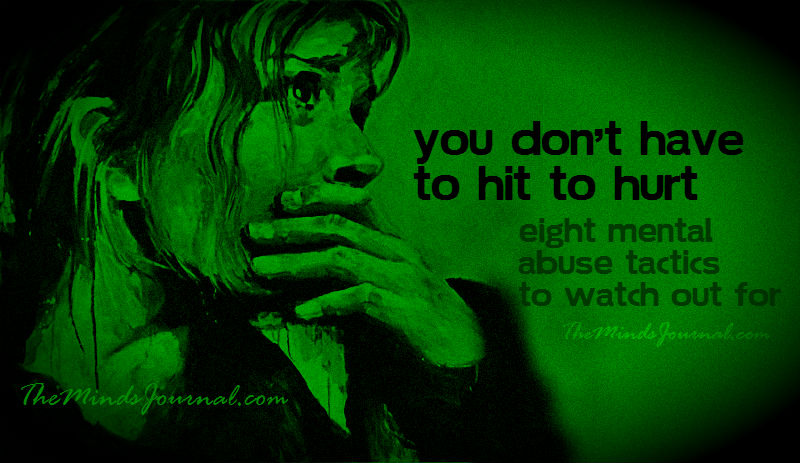 Eight Mental Abuse Tactics to watch out for