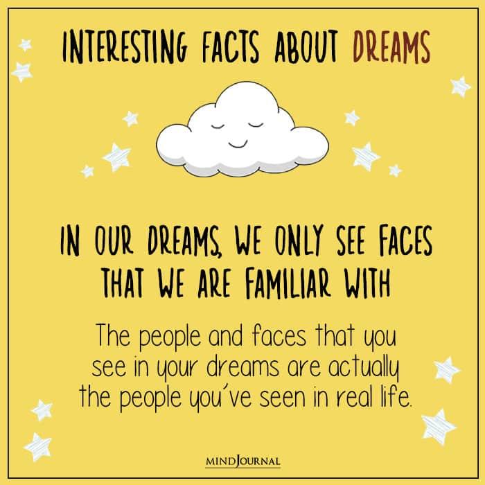 faces in dreams