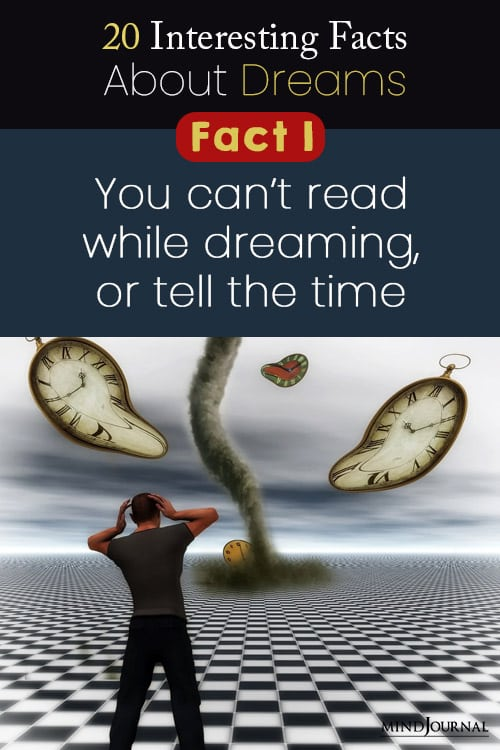 interesting facts about dreams fact pin