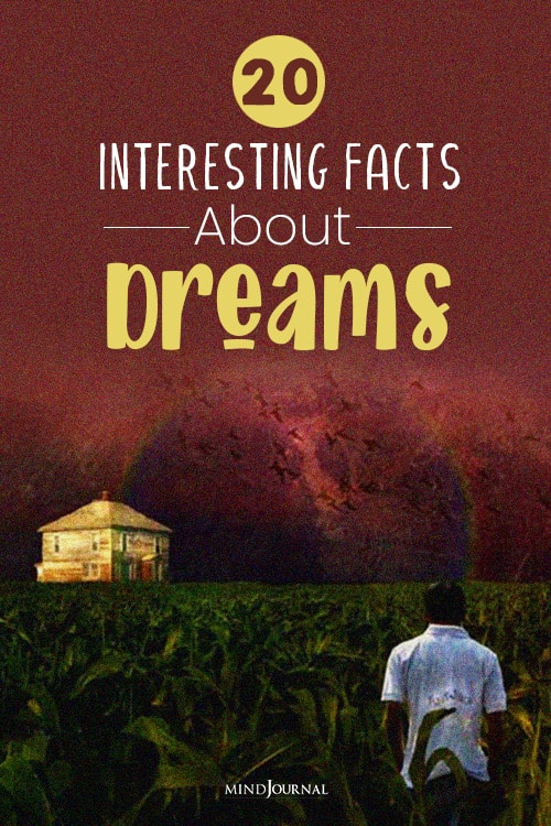 interesting facts about dreams pin