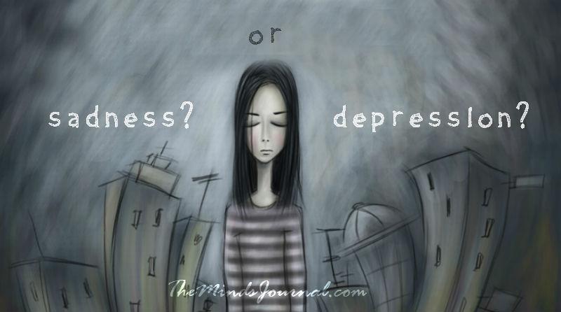 Just sadness or Depression? – Mind Talk