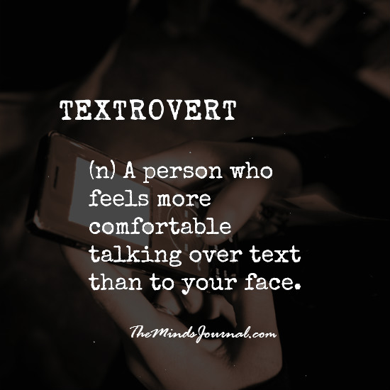 Textrovert – more comfortable talking over text
