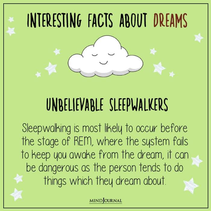 unbelievable sleepwalkers