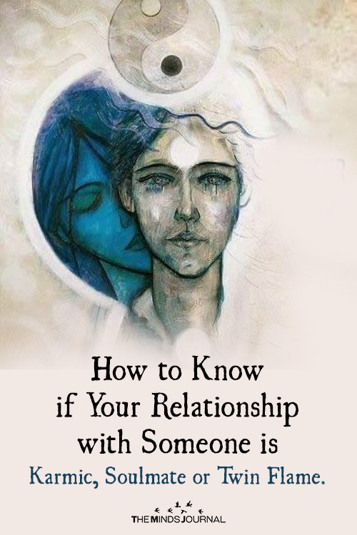 How to Know if Your Relationship with Someone is Karmic, Soulmate or Twin Flame.
