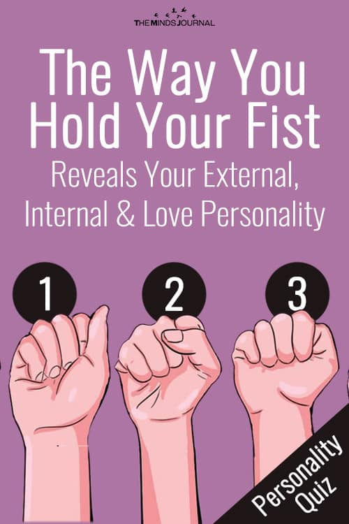 Fist Shape Reveals Your Personality