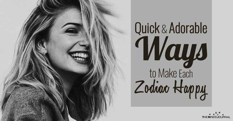 Quick and Adorable Ways to Make Each Zodiac Sign Happy
