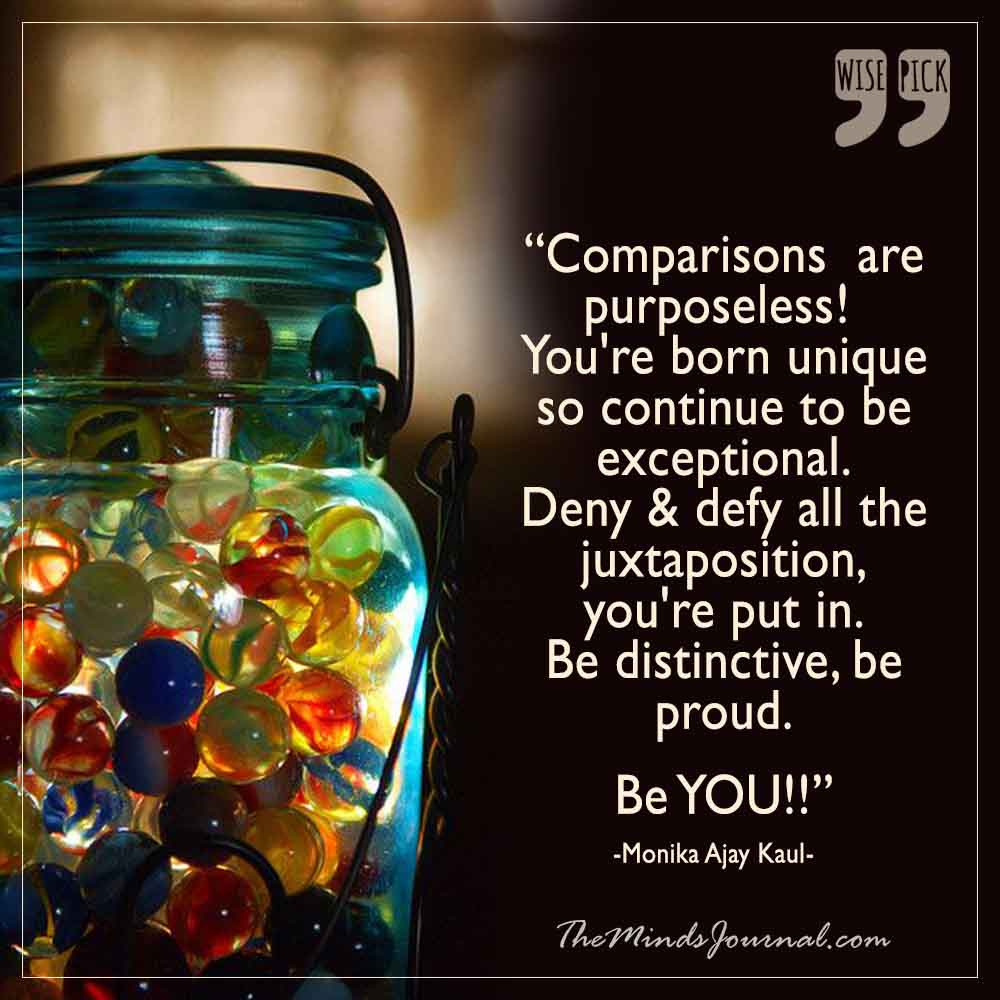 Be You..!