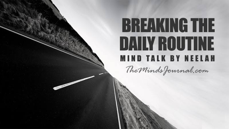 Breaking the daily routine – Mind Talk
