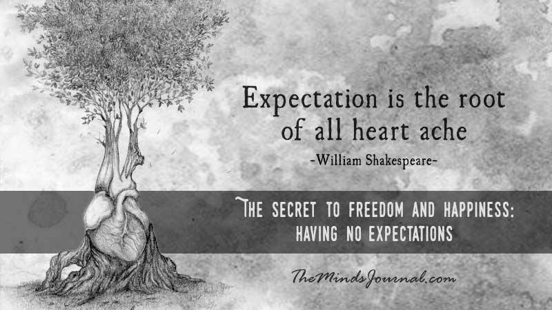 The Secret to Freedom and Happiness: Having No Expectations