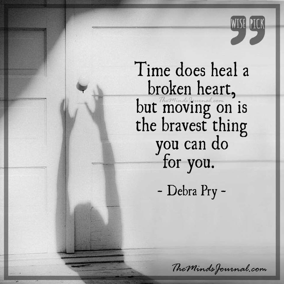 Time does heal a broken heart