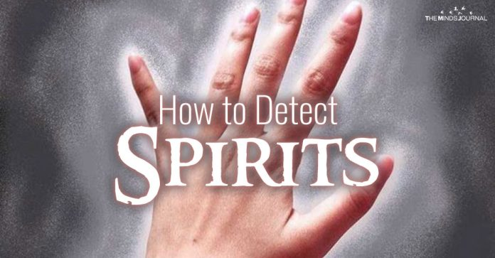 Sensing Energy: How to Detect Spirits