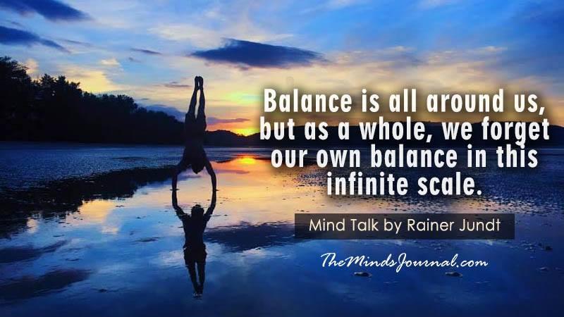 On Balance – Mind Talk