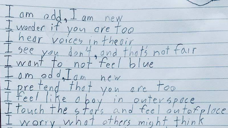 This Poem Written By A Boy With Autism Will Make You Feel Emotional