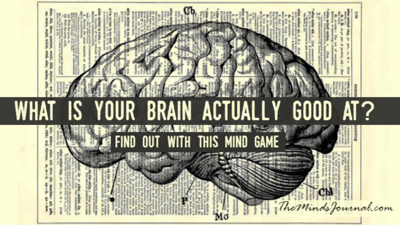 What Is Your Brain Actually Good At? – Mind Game