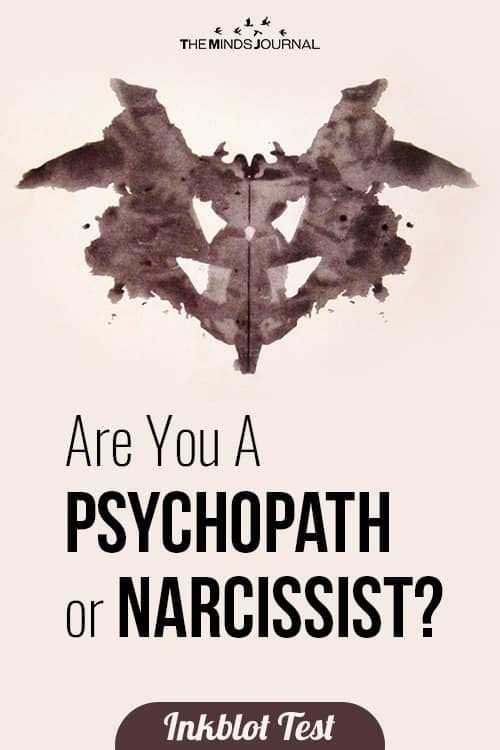 Are You A Psychopath or Narcissist- Inkblot test