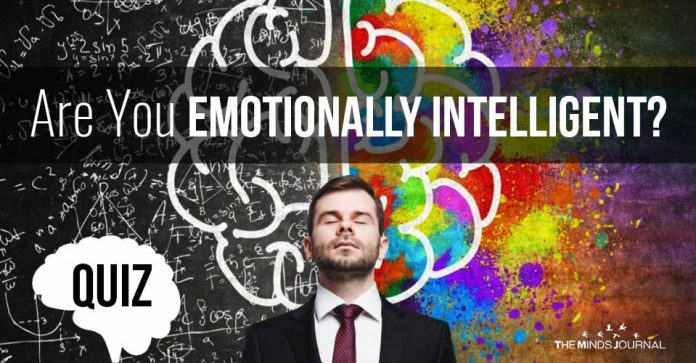 Are You Emotionally Intelligent