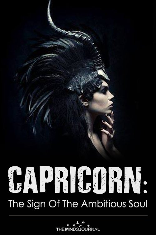 CAPRICORN THE SIGN OF THE AMBITIOUS SOUL