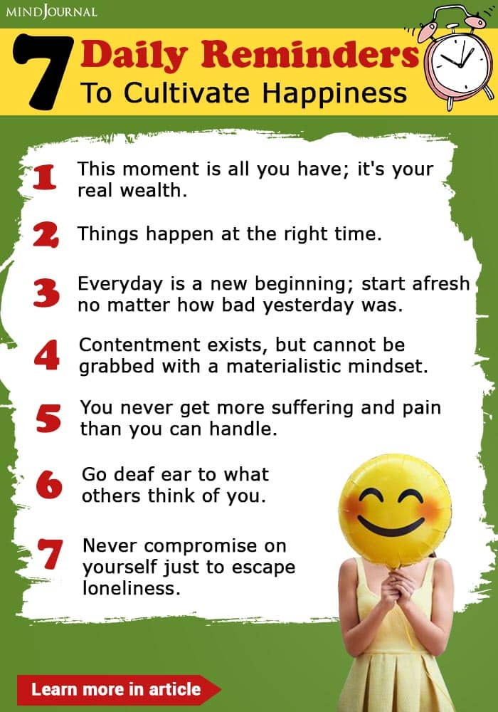 Feed Yourself Daily To Cultivate Happiness