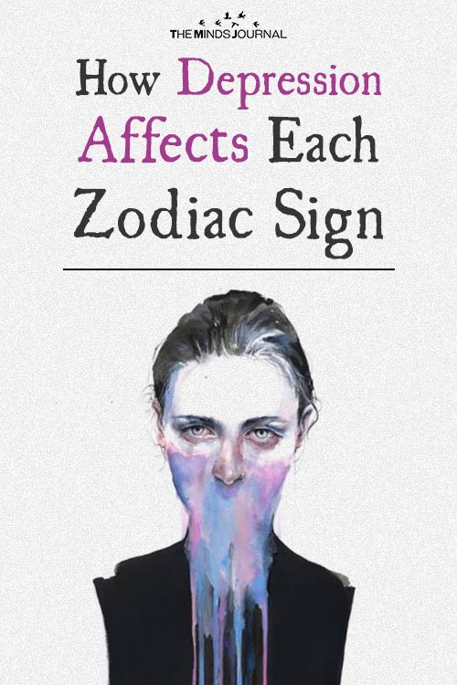How Depression Affects Each Zodiac Sign