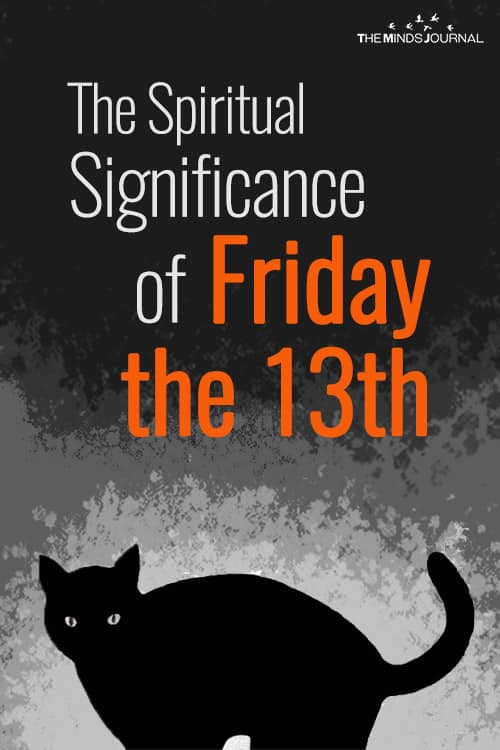 The Spiritual Significance of Friday the 13th pin