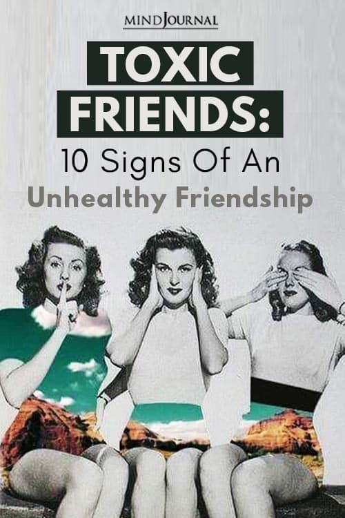 Toxic Friends Unhealthy Friendship Pin