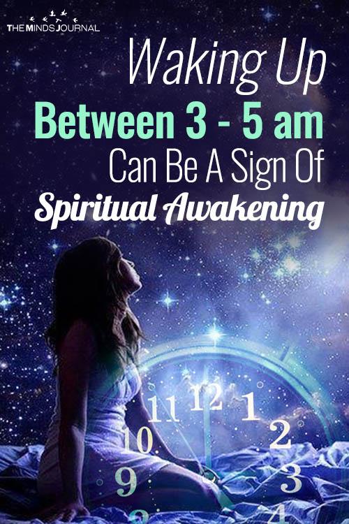 Waking Up Between 3-5am Often Can Be A Sign Of Spiritual Awakening
