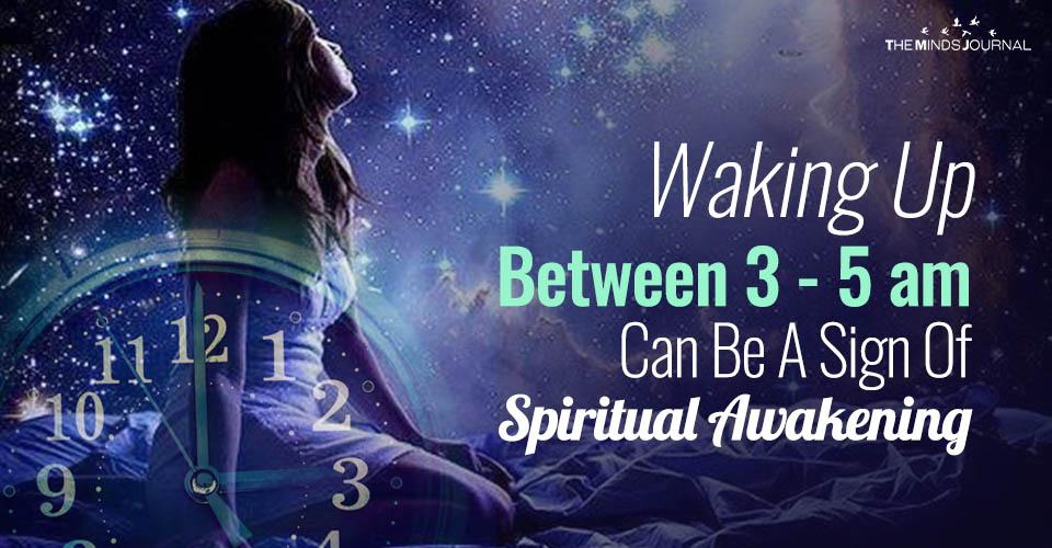Waking Up Between 3-5 am Often Can Be A Sign Of Spiritual Awakening