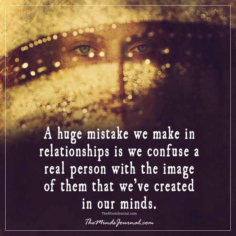 A huge mistake we make in relationships