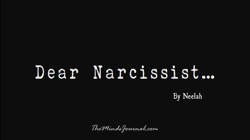 Dear Narcissist – Mind Talk