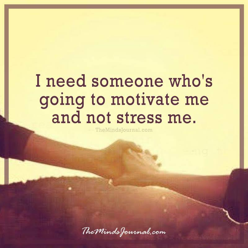 I need someone