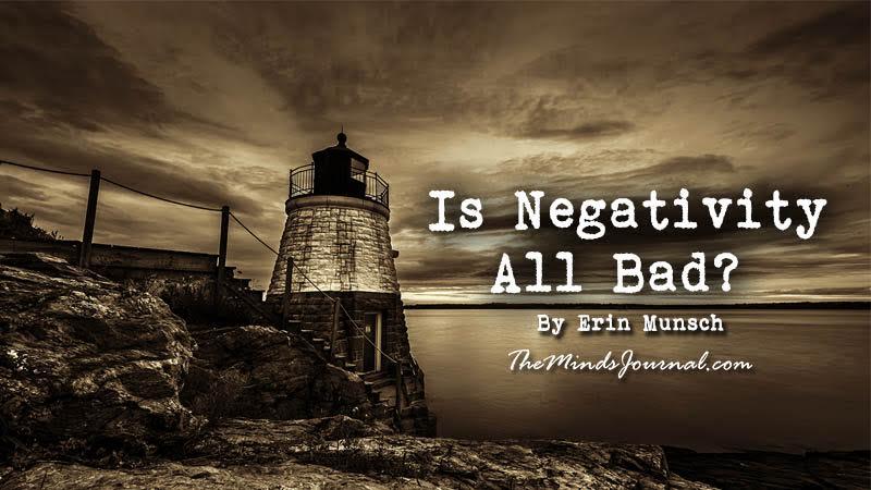 Is Negativity All Bad? – Mind Talk