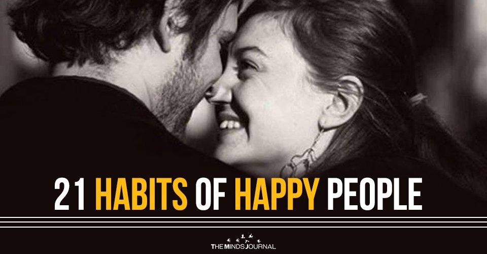 21 Habits of Happy People2