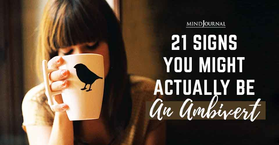 Signs You Might Actually Be An Ambivert