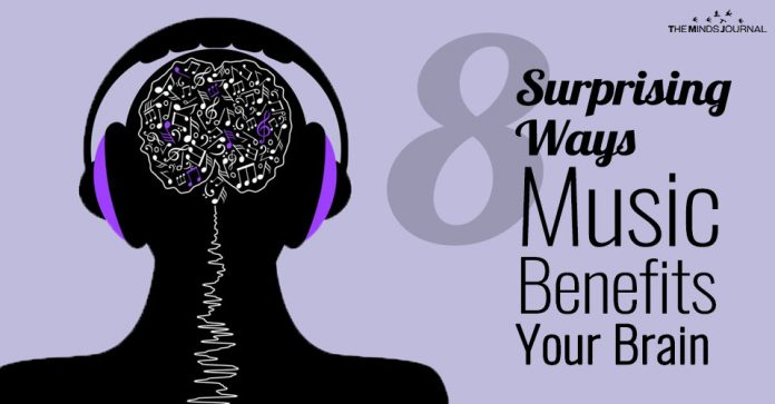 Music benefits your brain