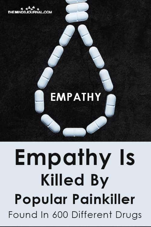 Empathy Killed Popular Painkiller Found In Different Drugs Pin