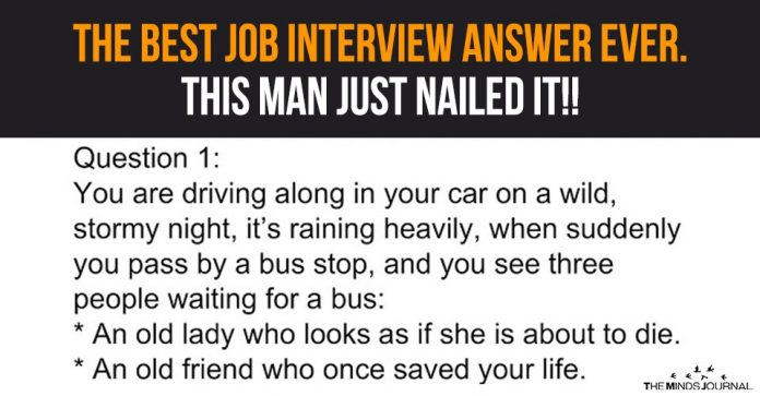 The Best Job Interview Answer Ever. This Man Just Nailed It!!2