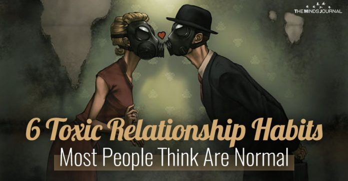 Toxic Relationship Habits Most People Think Are Normal