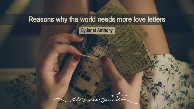 11 Reasons Why World Needs More Love Letters The Minds Journal