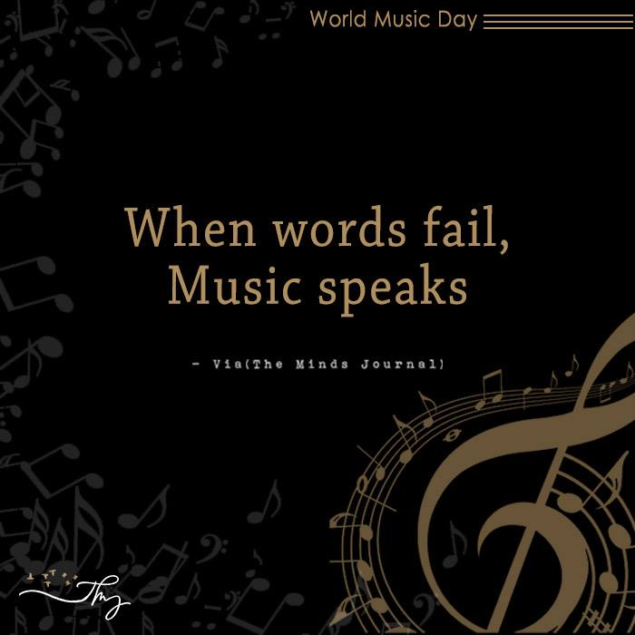 Music washes away from the Soul, the dust of everyday life 11