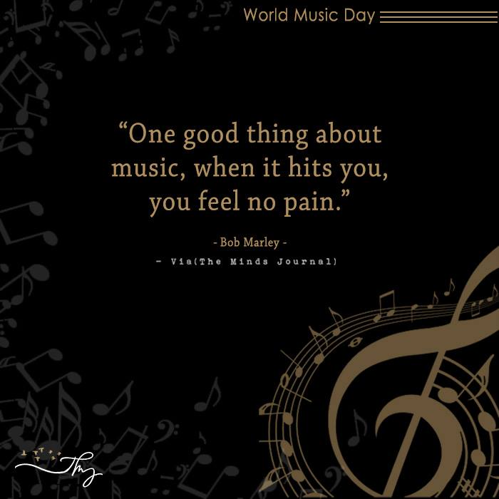 Music washes away from the Soul, the dust of everyday life 12