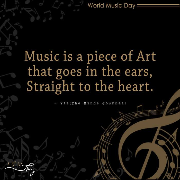 Music washes away from the Soul, the dust of everyday life 6