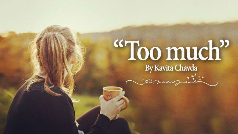 """Too much"" – Mind Talk"