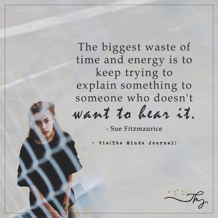 The biggest waste of time