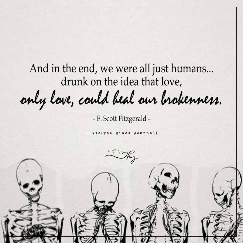 And in the end, we were all just humans