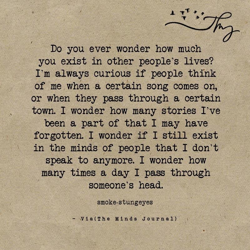 Do you ever wonder