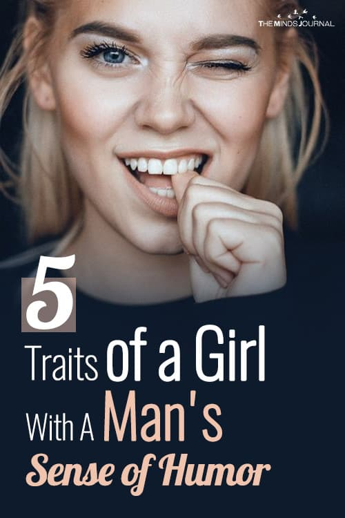 5 Traits of a Girl With A Man's Sense of Humor