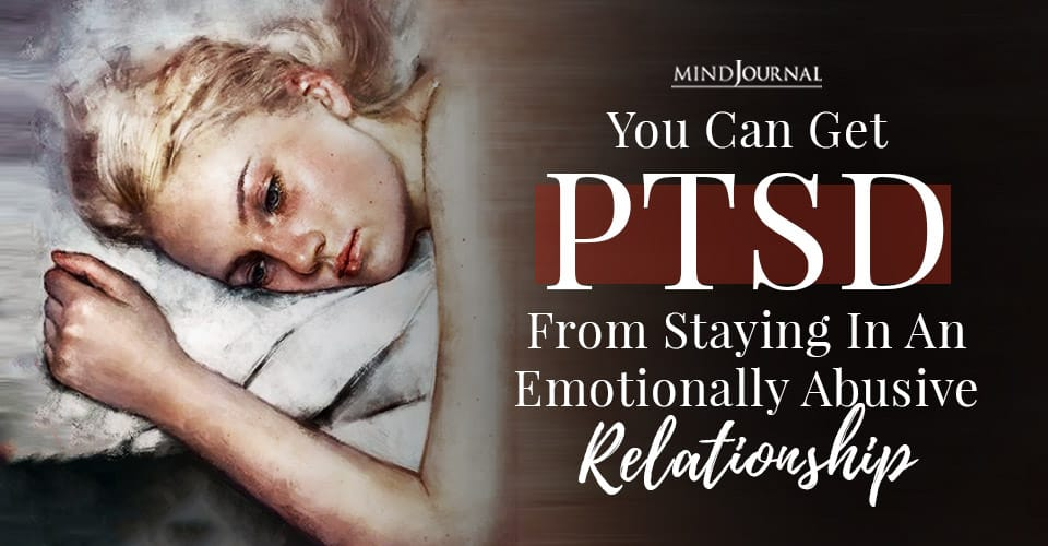 You Can Get PTSD