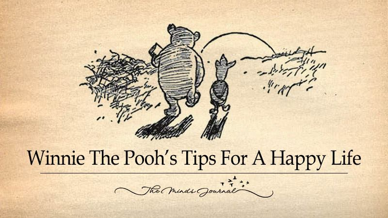 Winnie The Pooh's Tips For A Happy Life