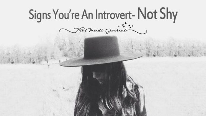 24 Signs You're An Introvert- Not Shy