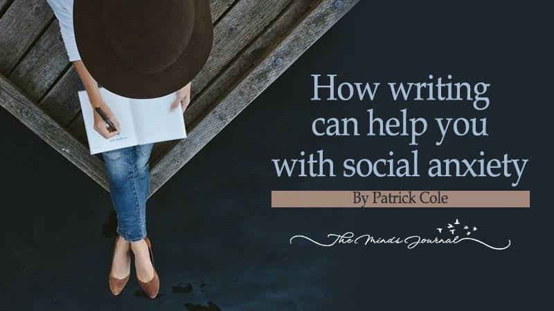How writing can help you with social anxiety